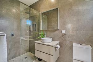 The Ensuite Bathroom at Civic Park Apartments