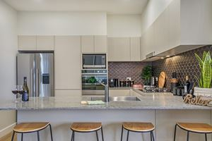 The Kitchen at Civic Park Apartments