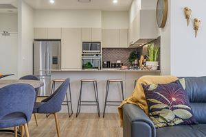 The Living Room at Civic Park Apartments