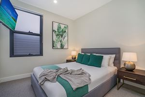 The Second Bedroom at Civic Park Apartments