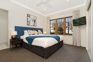 The Main Bedroom of Adams Street Maitland.