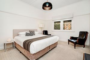 The Main Bedroom at Cooks Hill Cottage.