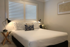 The Second Bedroom of a 3 Bedroom Townhouse Apartment at Adamstown Townhouses.