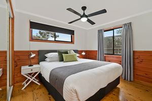 The Main Bedroom of Glebe Road Adamstown.