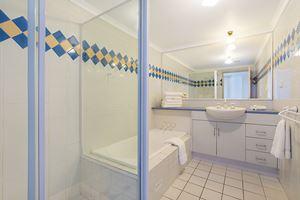 The Bathroom at Sandbar Apartment