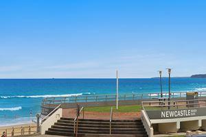Newcastle Beach is right on the doorstep of Sandbar Apartment.